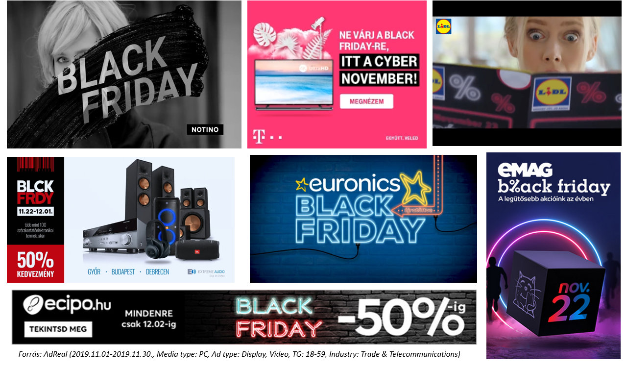 Black Friday helyett Black November – egyenletes